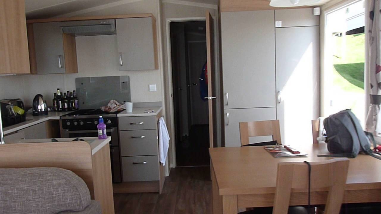 Platinum caravan at Haven Devon Cliff's - YouTube