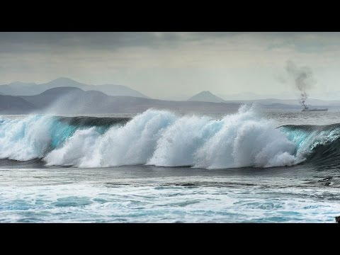Ocean Waves Crashing - Relaxing Sounds - Calming Relaxation Music For Sleeping - 1 Hour