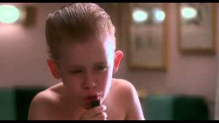 Home Alone - white christmas
