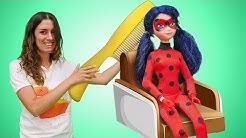 Lustige Schule - Der Frisiersalon - Spielzeugvideo für Kinder