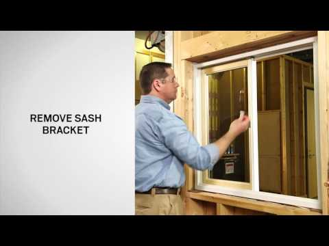 Sash Replacement on Andersen® 200 Series Gliding Windows