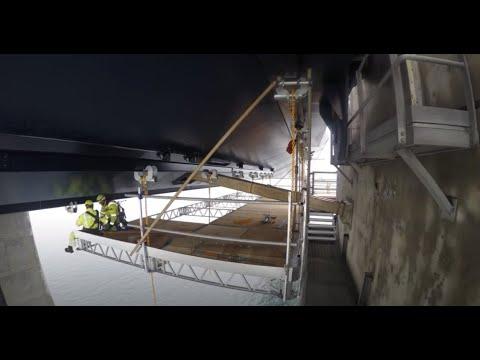 Semco Maritime - QuikDeck scaffolding system installed in 30 sek