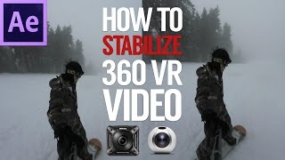 How To Stabilize 360 / VR video shot by Nikon Keymission 360 Gear 360 with Mettle SkyBox Studio V2