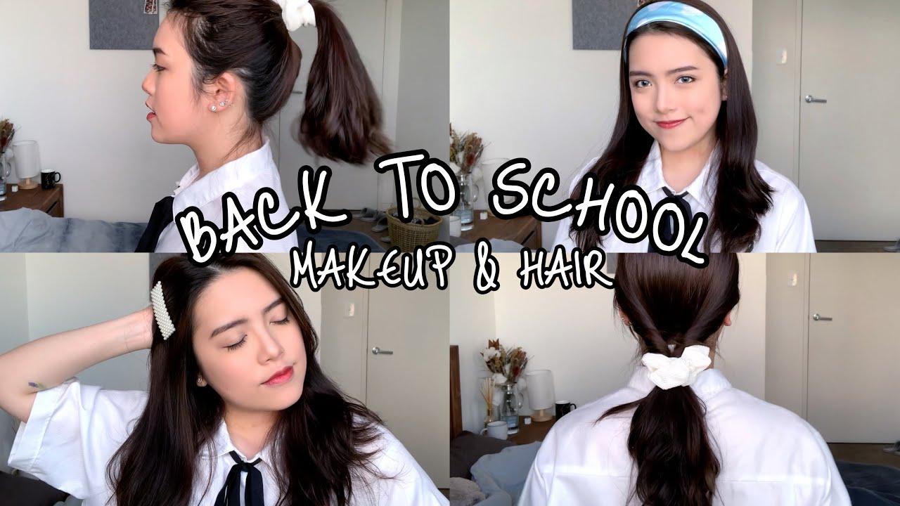 CHUẨN BỊ ĐI HỌC NHANH MÀ XINH: TRANG ĐIỂM TỰ NHIÊN, KIỂU TÓC ĐƠN GIẢN   #B2S (makeup&hairstyles)   Khái quát những nội dung liên quan kieu toc dep cua minh hang chi tiết nhất