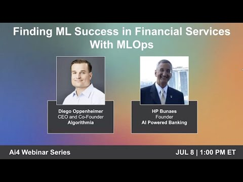 Finding ML Success in Financial Services With ML Ops