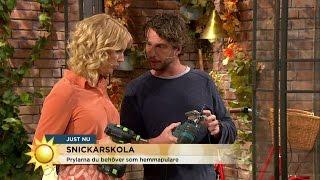 Verktygen alla hemmasnickare måste ha - Nyhetsmorgon (TV4)