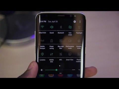Тёмная тема на всех телефонах Samsung