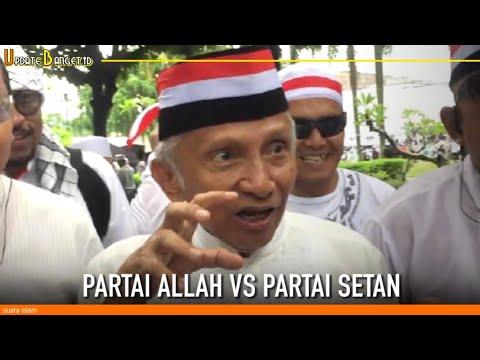 """Siapa Sih """"Partai Allah"""" Vs """"Parta Setan"""" Simak Video Berikut"""