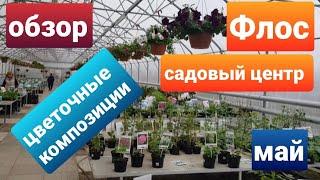 Садовый центр Флос /Ассортимент и цены/Цветочные композиции