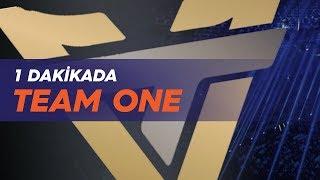 1 dakikada: team one esports  (one)