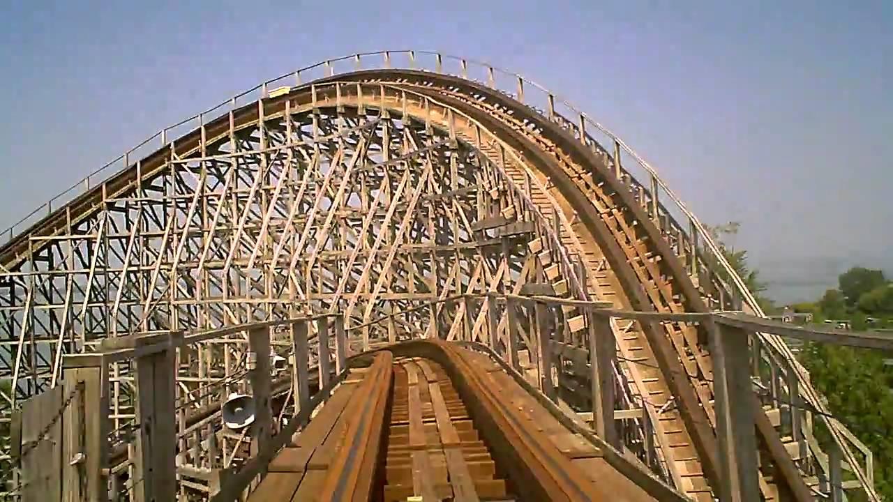 Cedar Point Mean Streak Roller Coaster Front Seat Pov