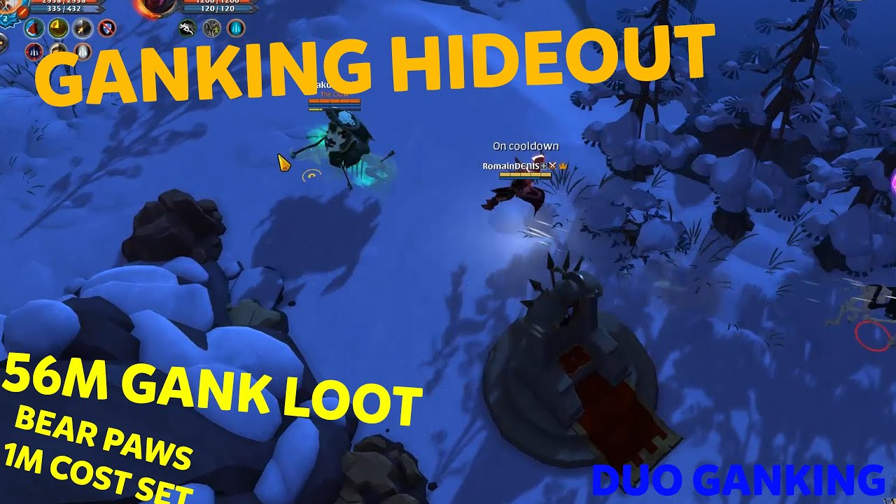 GANKING a HIDEOUT with only *DUO* GANKER ?? (giveaway) | 60M in 2hours | Albion Online