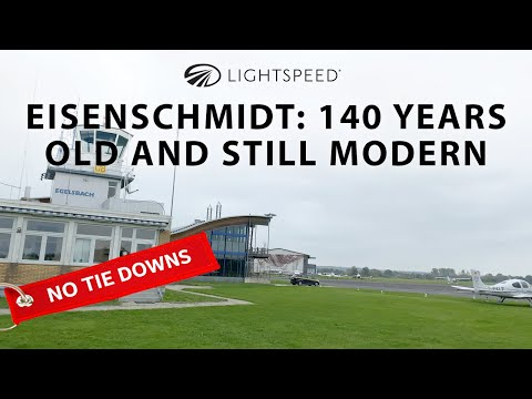 Aviation No Tie Downs: Eisenschmidt - 140 years old and still modern