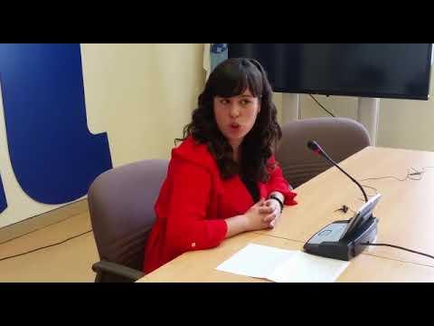 Paula Quinteiro comparece tras coñecerse o resultado da consulta de En Marea