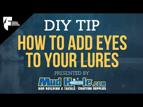 DIY TIP: How To Add Eyes To Your Lures