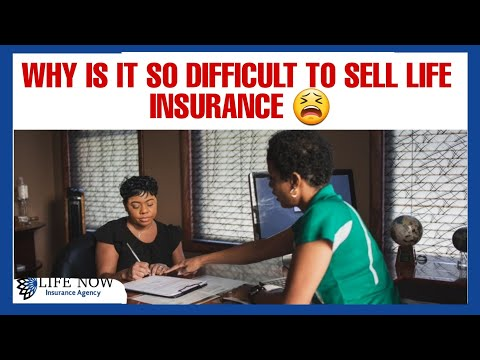 What's so difficult about selling life insurance 🤦🏽♀️