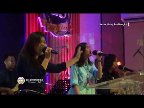 Yesus Hidup Dia Bangkit Medley Kubebas bebas bebas By Marlon Bolung