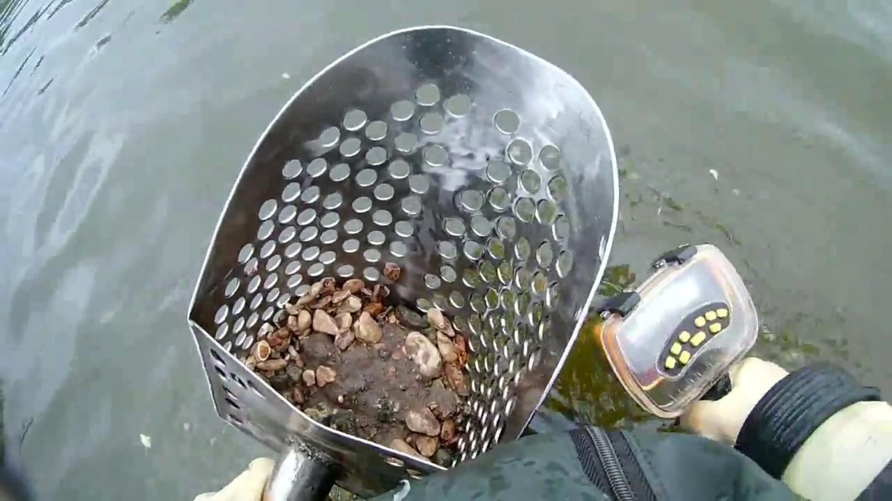 Поиск золота на плЯже. в глуши. серебро - youtube.