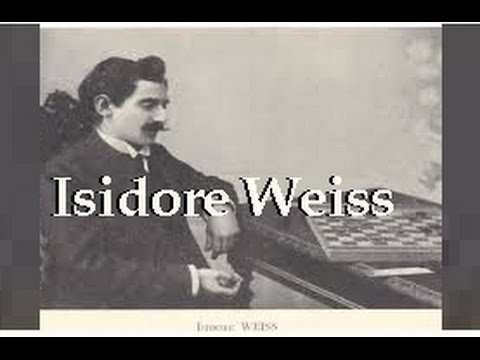 Isidore Weiss 25 victories (Wch 1899-1911)