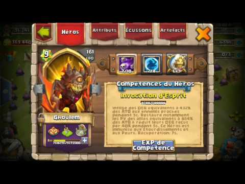 Castle Clash:Expert Dungeon 5-10 With Only 3 Heroes