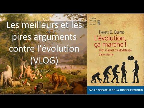 Les meilleurs et les pires arguments contre l'évolution (VLOG)