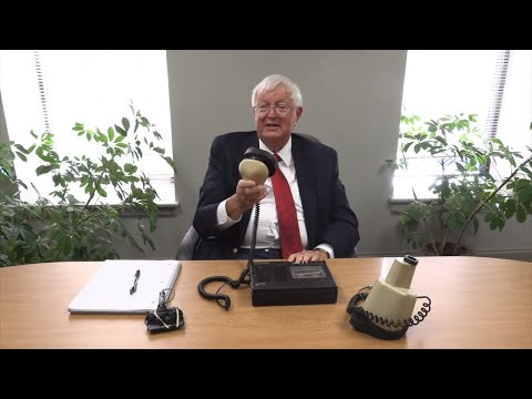 Semi-retired Georgia Court Reporter Demonstrates Voice Recording System