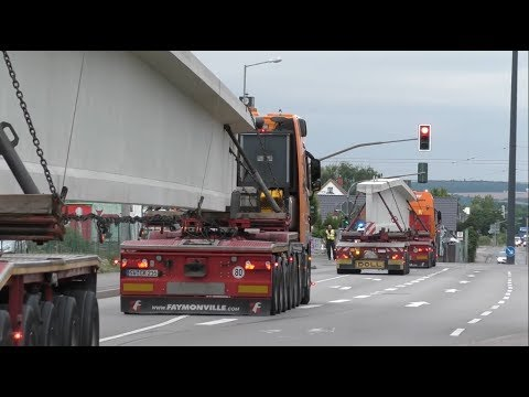 Schwertransporte Erfurt - Werksausfahrt BFE
