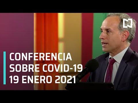 Conferencia Covid-19 en México - 19 enero 2021