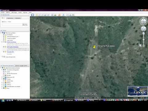 UFO Lights Google Earth Brazil