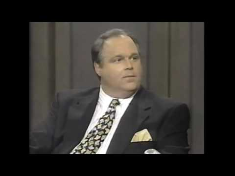 Rush Limbaugh talks Hillary Clinton (in 1993) and gets booed. HE ABSOLUTELY NAILED IT!
