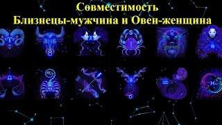 видео Совместимость гороскопов Близнецы и Овен