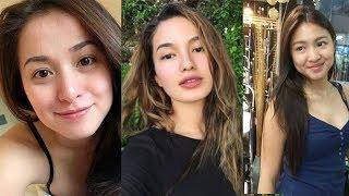 Alamin ang itsura ni Nadine, Sarah G, Anne at iba pa na walang make-up!
