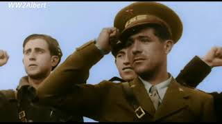 Spanish Civil War (1936-1939) Color Footage | HD