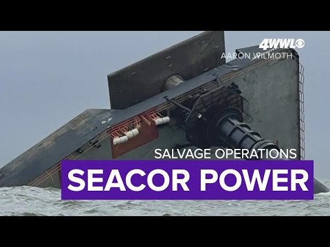 How the Seacor Power will be salvaged from the Gulf of Mexico