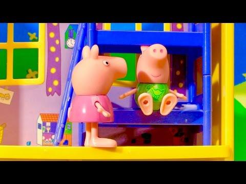 Peppa Pig House Playset Toy Surprises English Episode