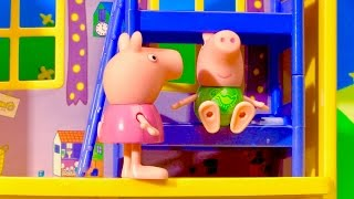 Peppa Pig House Playset Toy Surprises English episode