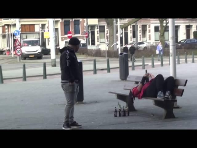 Social experiment: Alcohol verslaafd