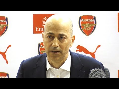 Arsenal Chief Executive Ivan Gazidis Press Conference - Gives Powerful Tribute To Arsene Wenger