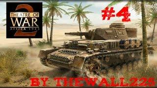 Theatre of War 2 Africa 1943 Gamplay ITA #4 - Un Tiger Selvatico