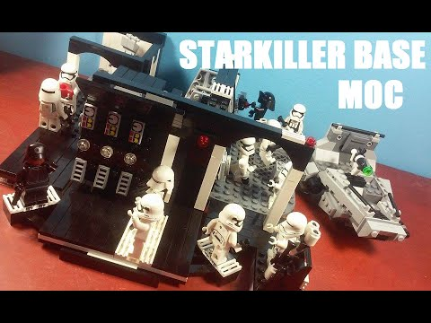 LEGO Starkiller Base MOC | Jcc2224 - YouTube