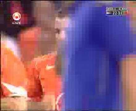 Holland 4-0 Andorra (Rafael Van der Vaart's superb goal)
