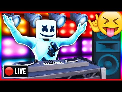 "🔴 WATCHING ""Marshmello Event"" in Fortnite! - LIVE Marshmello Concert Right Now! (Fortnite LIVE) thumbnail"