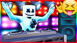 "REACTING to ""Marshmello Event"" in Fortnite! - LIVE Marshmello Concert Right Now! (Fortnite LIVE)"