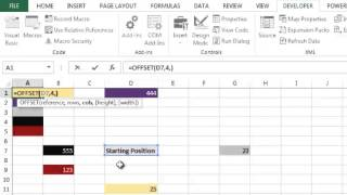Offset function in hindi - Bhavesh's Excel Tricks