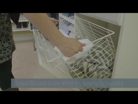How to Hide Laundry in Your Closet