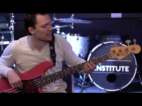 Tuning a bass guitar - How to play bass guitar lesson two