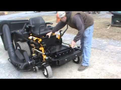 2007 Cub Cadet Cubcadet M48 Commercial Zero Turn Mower