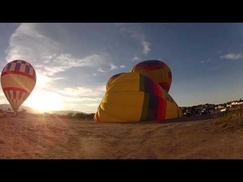 Albuquerque, NM Our Balloon Standing Up