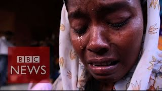 Migrant story: 4 months at sea - BBC News