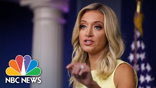 McEnany: 'Science Should Not Stand In The Way' Of Schools Opening | NBC News NOW